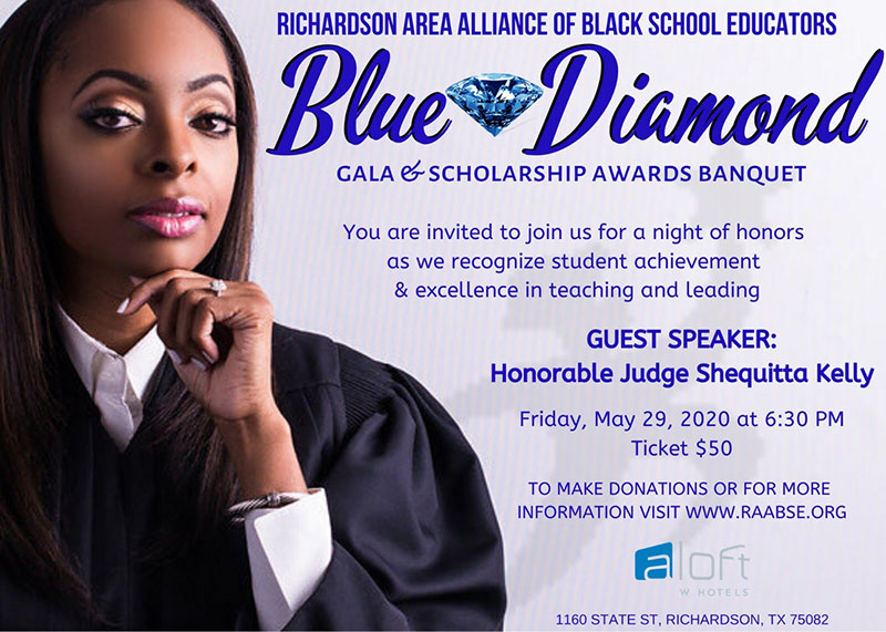 RAABSE Blue Diamond Gala - May 29