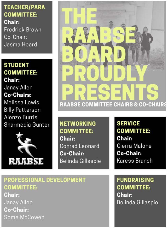 The RAABSE Board Proudly Presents